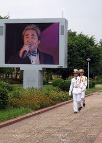 Serenading Uncle Ho