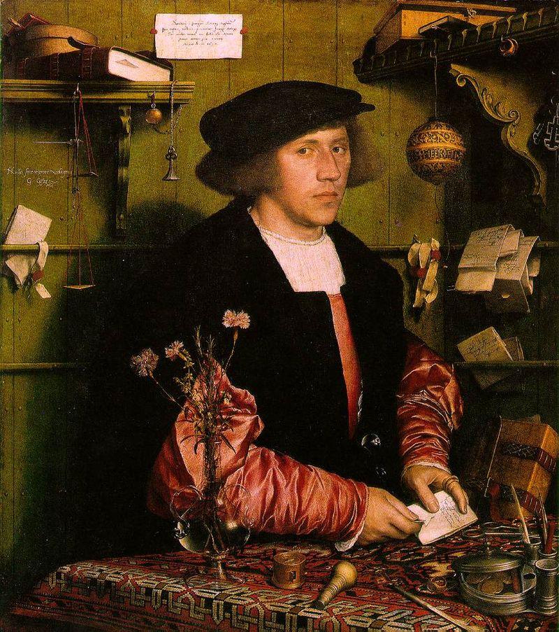 Holbein George Gisze