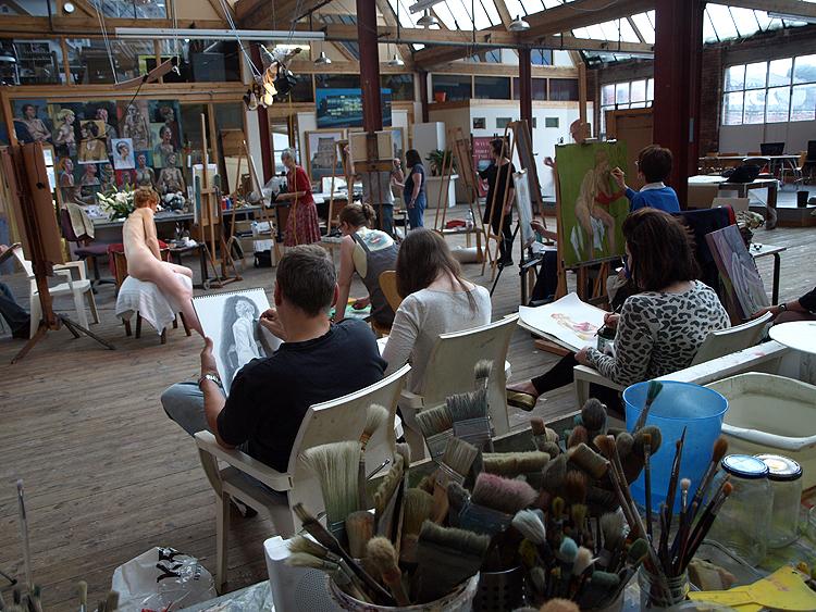 Life Drawing at Redbrick Mill 2