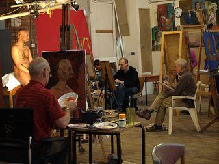 Life Drawing at Redbrick Mill