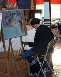 Joanne painting