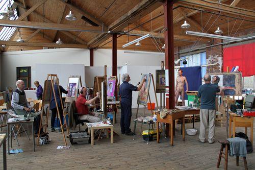 LIFE DRAWING AT REDBRICK MILL